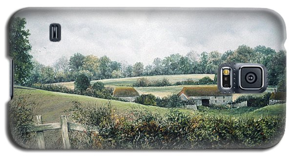 Galaxy S5 Case featuring the painting The Lost Hedgerow by Rosemary Colyer