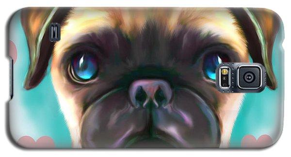 The Love Pug Galaxy S5 Case