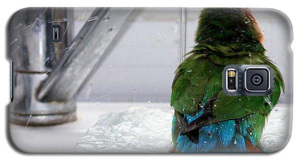 The Lovebird's Shower Galaxy S5 Case by Terri Waters