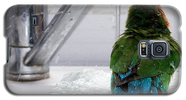 The Lovebird's Shower Galaxy S5 Case