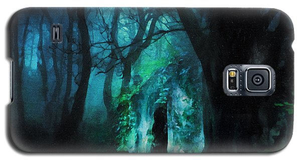 The Lovers Cottage By Night Galaxy S5 Case