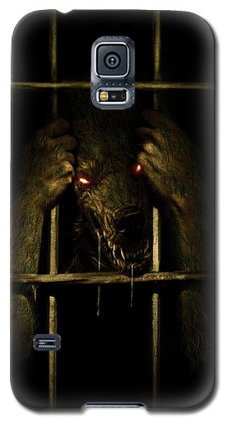 Galaxy S5 Case featuring the digital art The Lycan by Jeremy Martinson