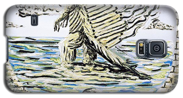 Galaxy S5 Case featuring the painting The Machine by Ryan Demaree