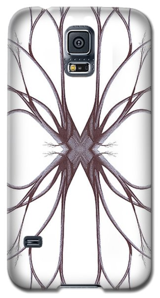 Galaxy S5 Case featuring the drawing The Magic Of Nature by Giuseppe Epifani