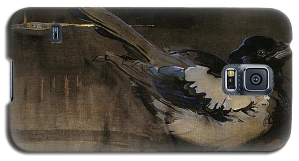 The Magpie Galaxy S5 Case by Joseph Crawhall