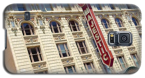 Galaxy S5 Case featuring the photograph The Majestic Theater Dallas #1 by Robert ONeil