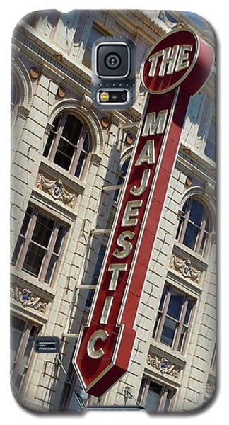 Galaxy S5 Case featuring the photograph The Majestic Theater Dallas #2 by Robert ONeil