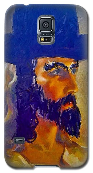 Galaxy S5 Case featuring the painting The Man by Lisa Piper