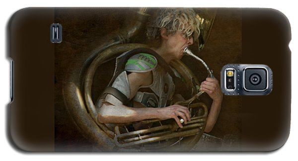 The Man - The Tuba Galaxy S5 Case by Jeff Burgess