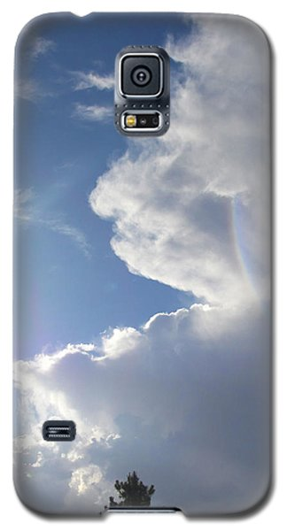 Galaxy S5 Case featuring the photograph Rainbow Tears by Deborah Moen