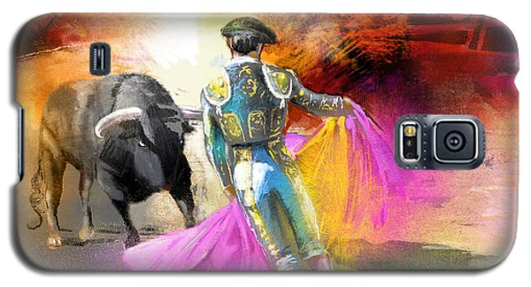 The Man Who Fights The Bull Galaxy S5 Case