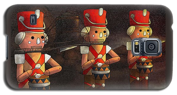 The March Of The Wooden Soldiers Galaxy S5 Case by Reynold Jay