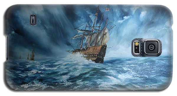 The Mary Rose And Fleet Galaxy S5 Case by Jean Walker
