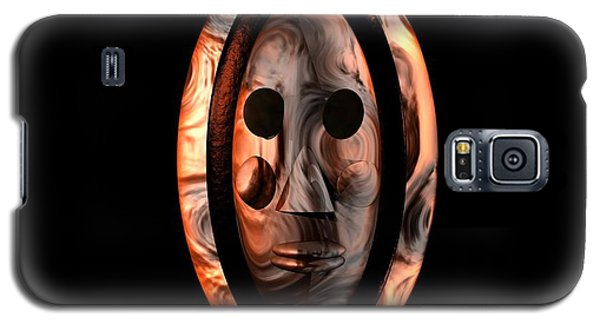 Galaxy S5 Case featuring the digital art The Mask Series 1 by Jacqueline Lloyd