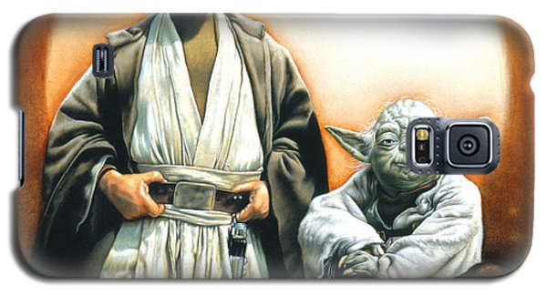 Star Wars Galaxy S5 Case - The Masters by Edward Draganski