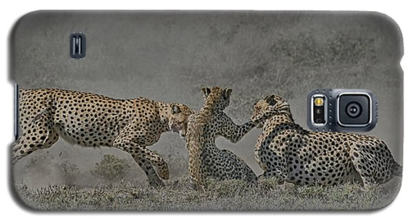 Galaxy S5 Case featuring the photograph The Mating Game by Gary Hall