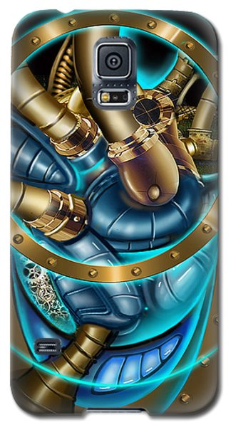 The Mechanical Heart Galaxy S5 Case