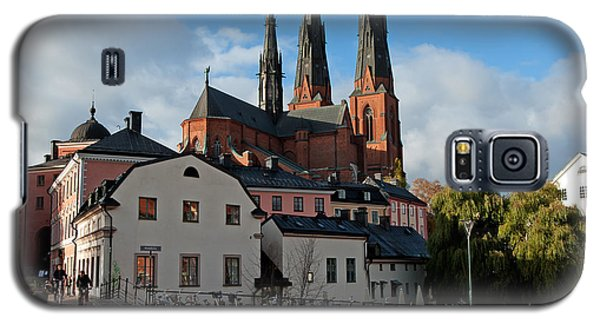 The Medieval Uppsala Galaxy S5 Case by Torbjorn Swenelius