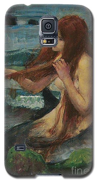 The Mermaid Galaxy S5 Case by John William Waterhouse