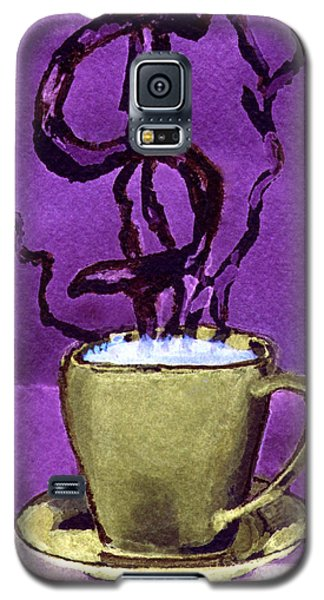 Galaxy S5 Case featuring the painting The Midas Cup by Paula Ayers