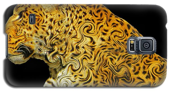 The Mighty Panthera Pardus Galaxy S5 Case by Emmy Marie Vickers