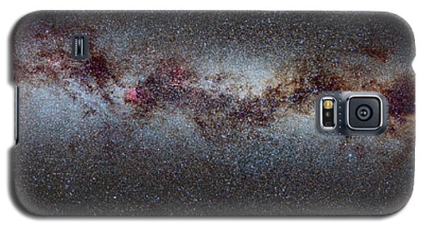 Swan Galaxy S5 Case - The Milky Way From Scorpio And Antares To Perseus by Guido Montanes Castillo
