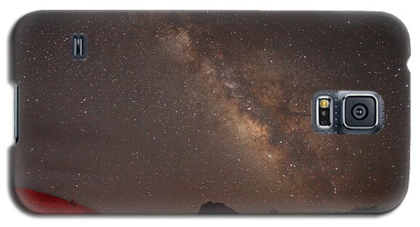 The Milky Way Over Mesa Arch Galaxy S5 Case