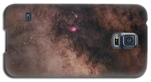 Galaxy S5 Case featuring the photograph Summer Night Sky by Dennis Bucklin