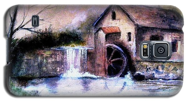 Galaxy S5 Case featuring the painting The Millstream by Hazel Holland