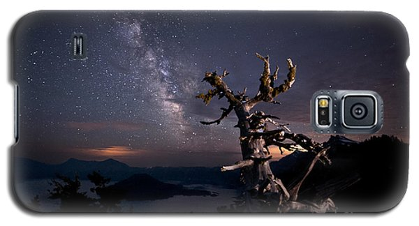 The Mind Belonged To Heaven The Body's Shadow Lies There Galaxy S5 Case by Melany Sarafis