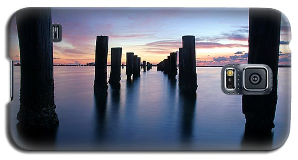 The Missing Pier At Sunset Galaxy S5 Case