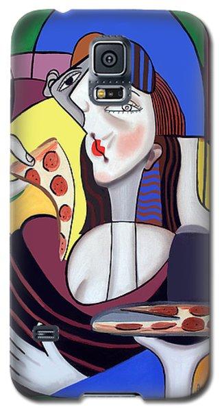The Mona Pizza Galaxy S5 Case