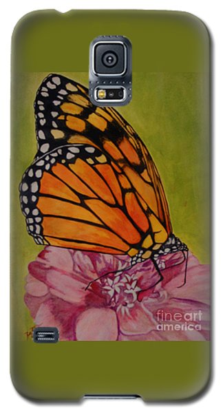 The Monarch Galaxy S5 Case by Suzette Kallen