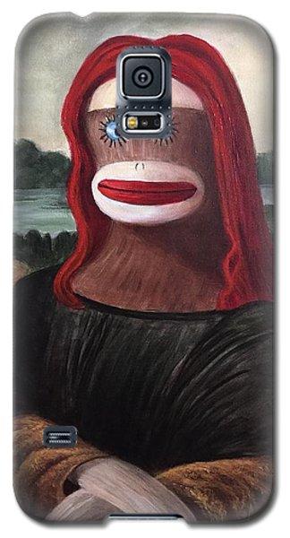 The Monkey Lisa Galaxy S5 Case by Randy Burns