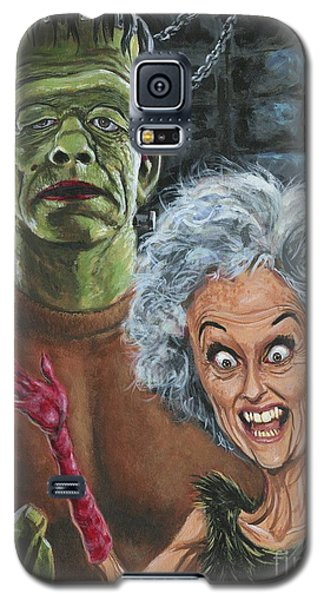 The Monster And His More Intelligent Mate Galaxy S5 Case