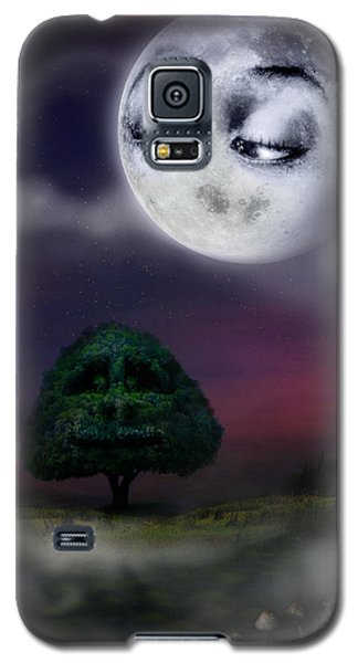 The Moon And The Tree Galaxy S5 Case
