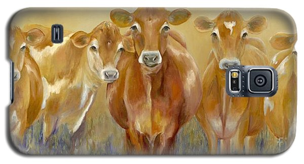Cow Galaxy S5 Case - The Morning Moo by Catherine Davis