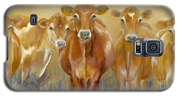 The Morning Moo Galaxy S5 Case by Catherine Davis