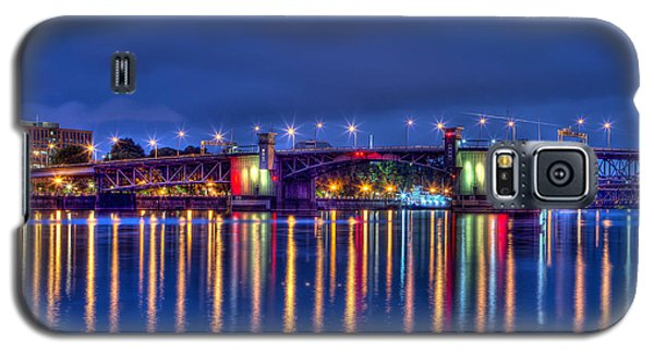 Morrison Bridge Reflections Galaxy S5 Case by Thom Zehrfeld