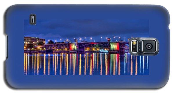 Morrison Bridge Reflections Portland Galaxy S5 Case