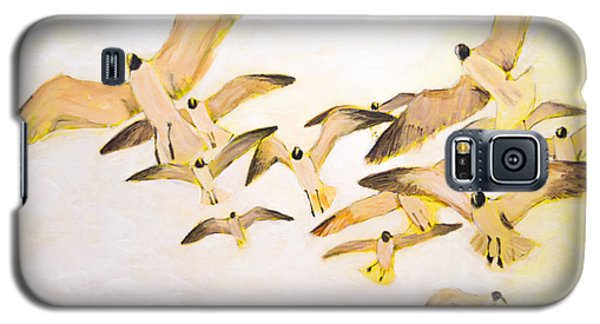 The Most Glorious Birds Galaxy S5 Case by Ron Richard Baviello