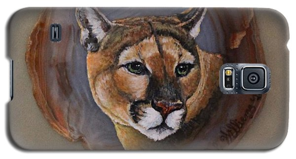 The Mountain Lion Galaxy S5 Case