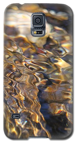 Galaxy S5 Case featuring the photograph The Music And Motion Of Water by Amy Gallagher