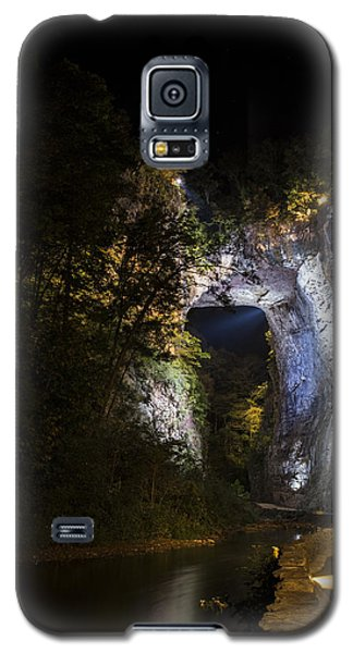 The Natural Bridge At Night  Galaxy S5 Case