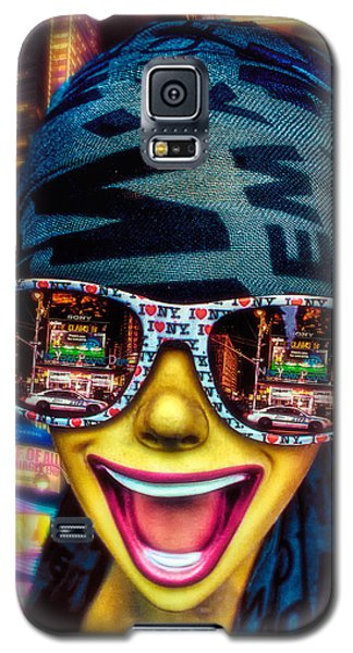 Galaxy S5 Case featuring the photograph The New York City Tourist by Chris Lord