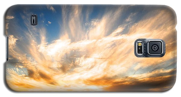 The Night The Sunset Danced Galaxy S5 Case by Margie Amberge