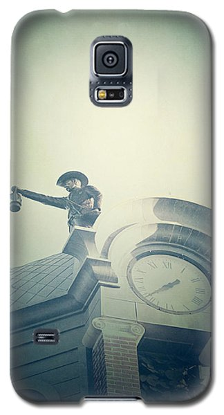 Galaxy S5 Case featuring the photograph The Night Watchman by Trish Mistric