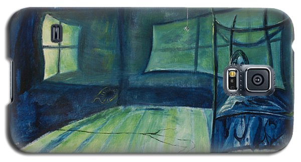 Galaxy S5 Case featuring the painting The Nightmare by Christophe Ennis