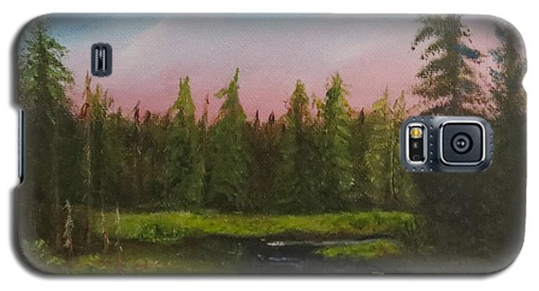Galaxy S5 Case featuring the painting The Northeast by Sharon Schultz
