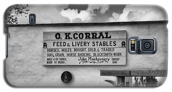 The O. K. Corral Galaxy S5 Case by Anne Rodkin